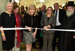 Ellen Hershkin ribbon-cutting